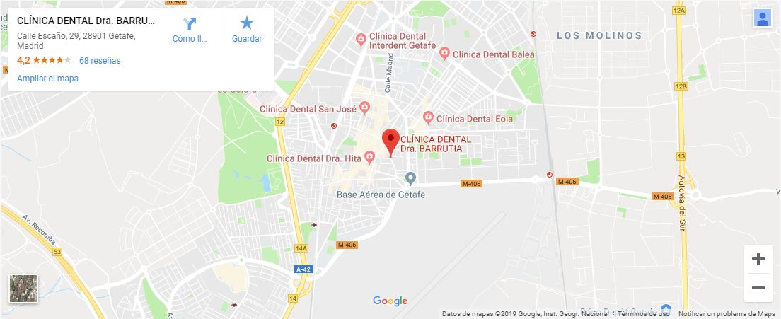 Contacto Clínica Dental Barrutia
