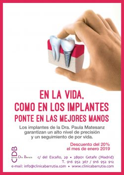 Campaña de descuentos en implantes | Clínica Dental Barrutia