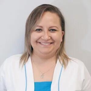 Gabriela, higienista de la Clínica Dental Barrutia