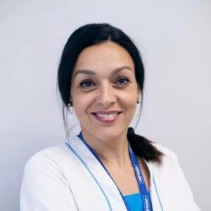 Noni, higienista en Getafe, en la Clínica Dental Barrutia