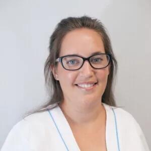 Silvia, higienista de la Clínica Dental Barrutia en Getafe