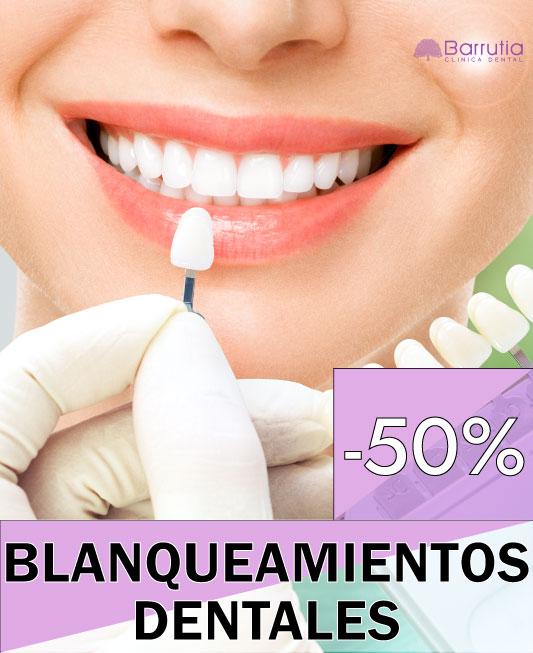 Descuento Blanqueamiento dental